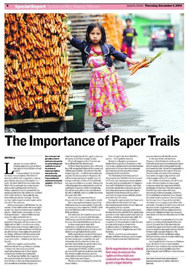 importance of paper