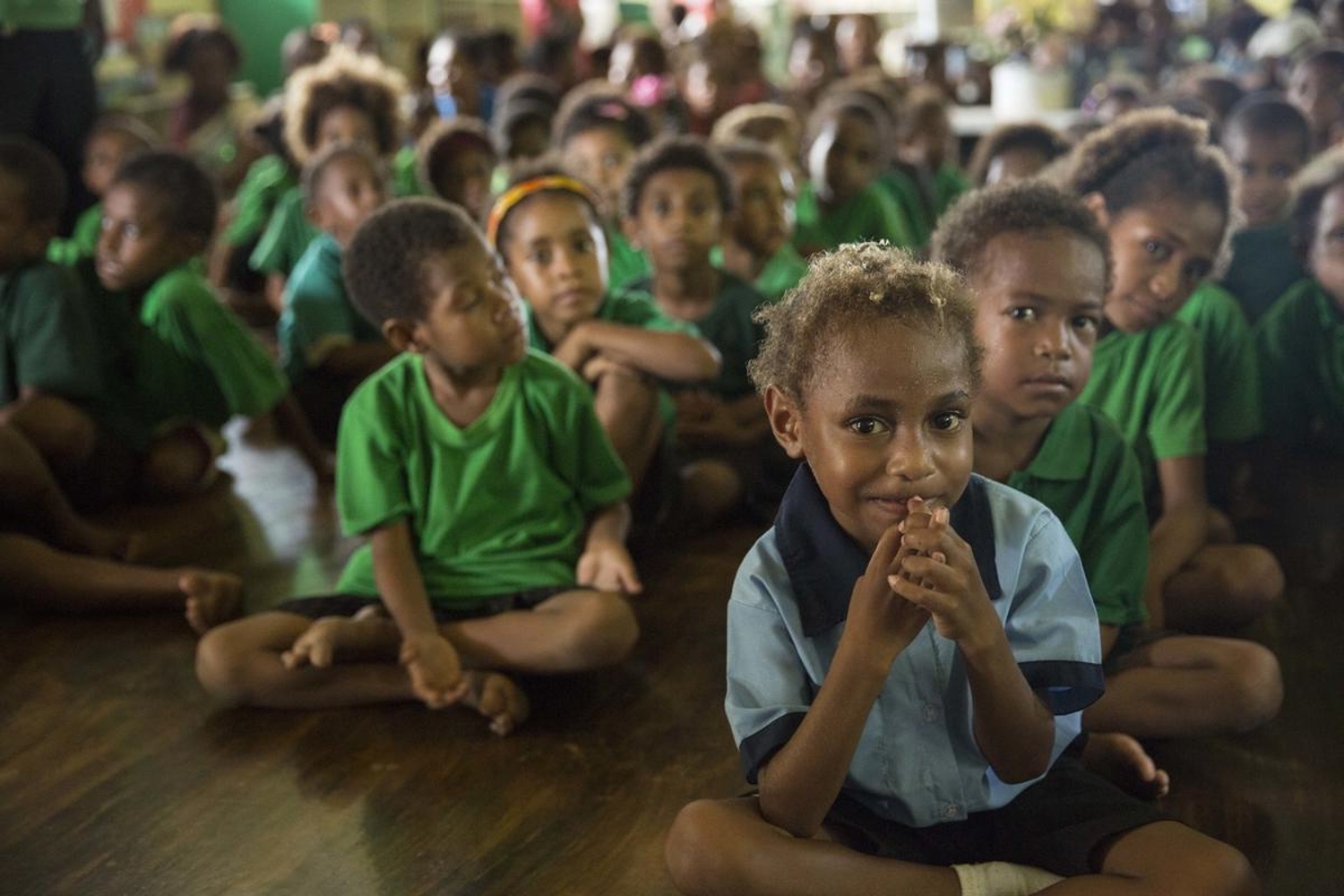 It takes you and me to end physical violence Papua New Guinea children