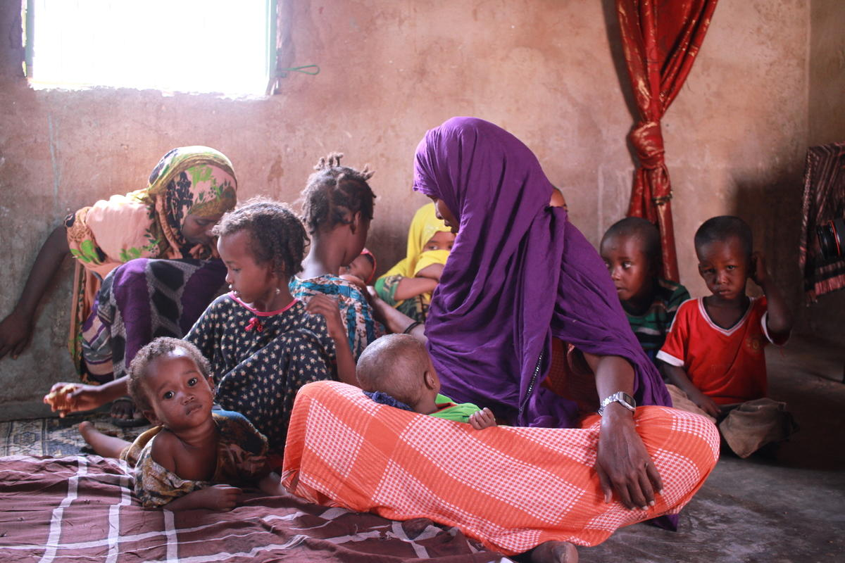 Somalia children's crisis