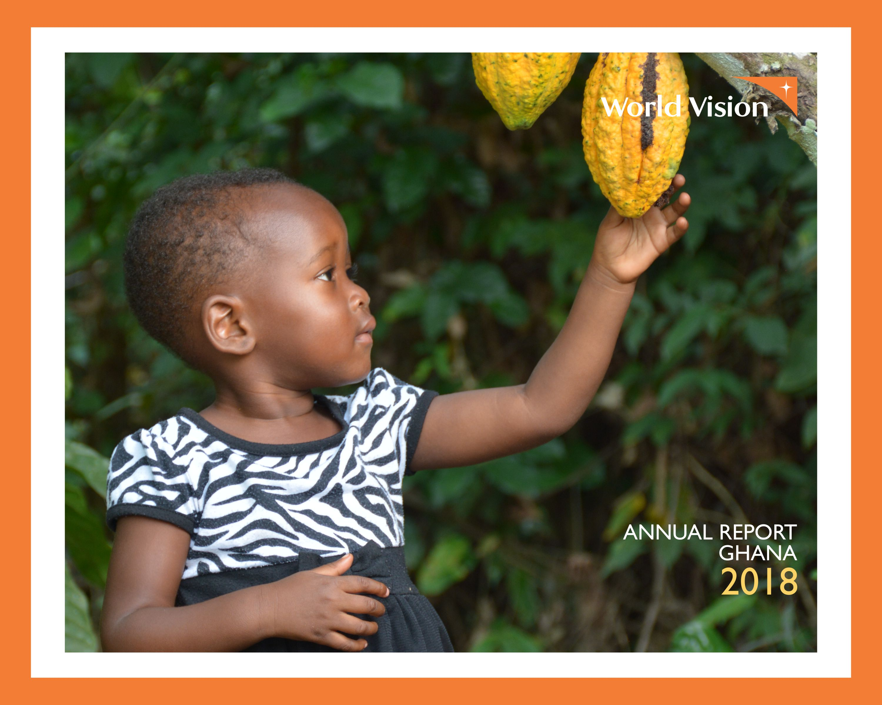 Ghana 2018 Annual Report Cover