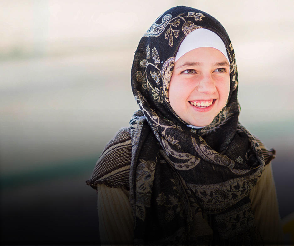 Shaima is a Syrian refugee in Jordan