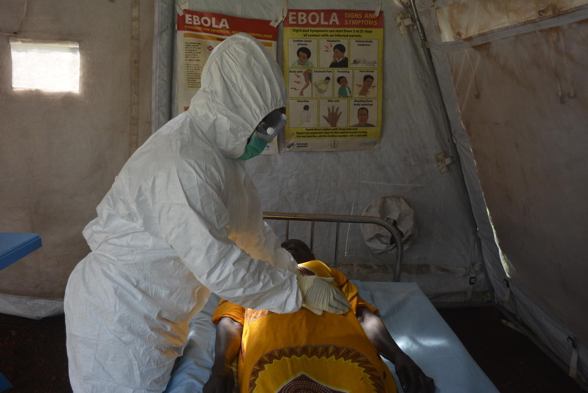 Fighting Ebola in the Democratic Republic of Congo