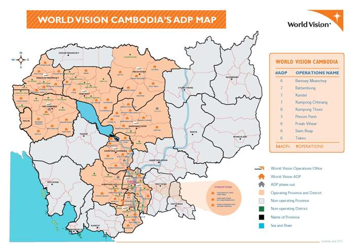 Area programmes world vision international the communities world vision works with called area programmes aps across cambodia are normally based on geographical districts within a province gumiabroncs Images