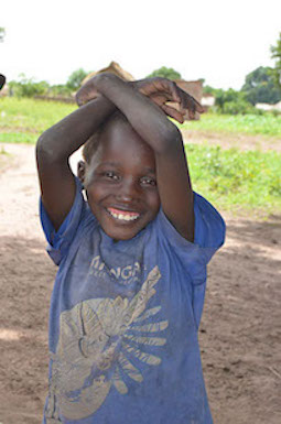 World Vision Chad strives to place a smile on each child's face
