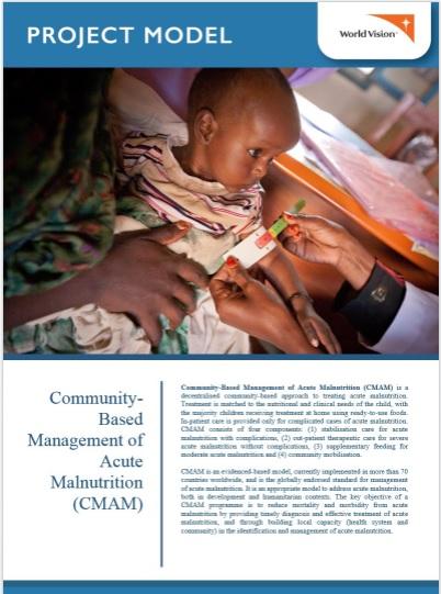 Community-based Management of Acute Malnutrition Model