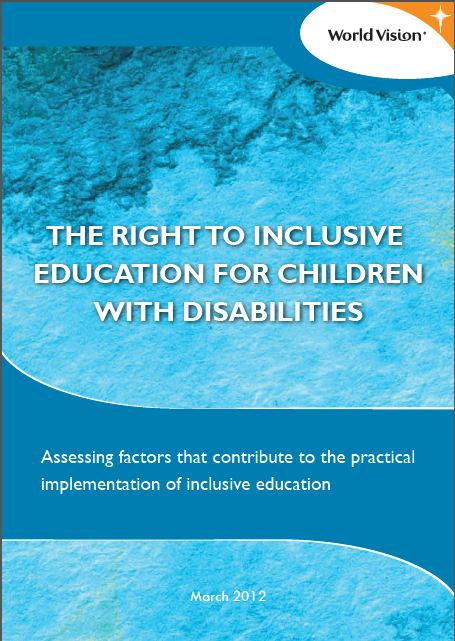 the implementation of the legislation on inclusive education of children with disabilities Plan international is committed to ensuring that every child completes a quality, inclusive education without discrimination or exclusion in the last 5 years, our inclusive education programme has supported children with disabilities in 40 countries.
