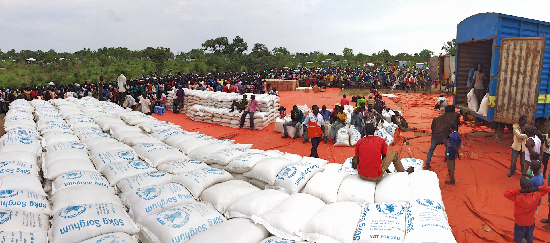 Over 690,000 refugees receiving food from World Vision every