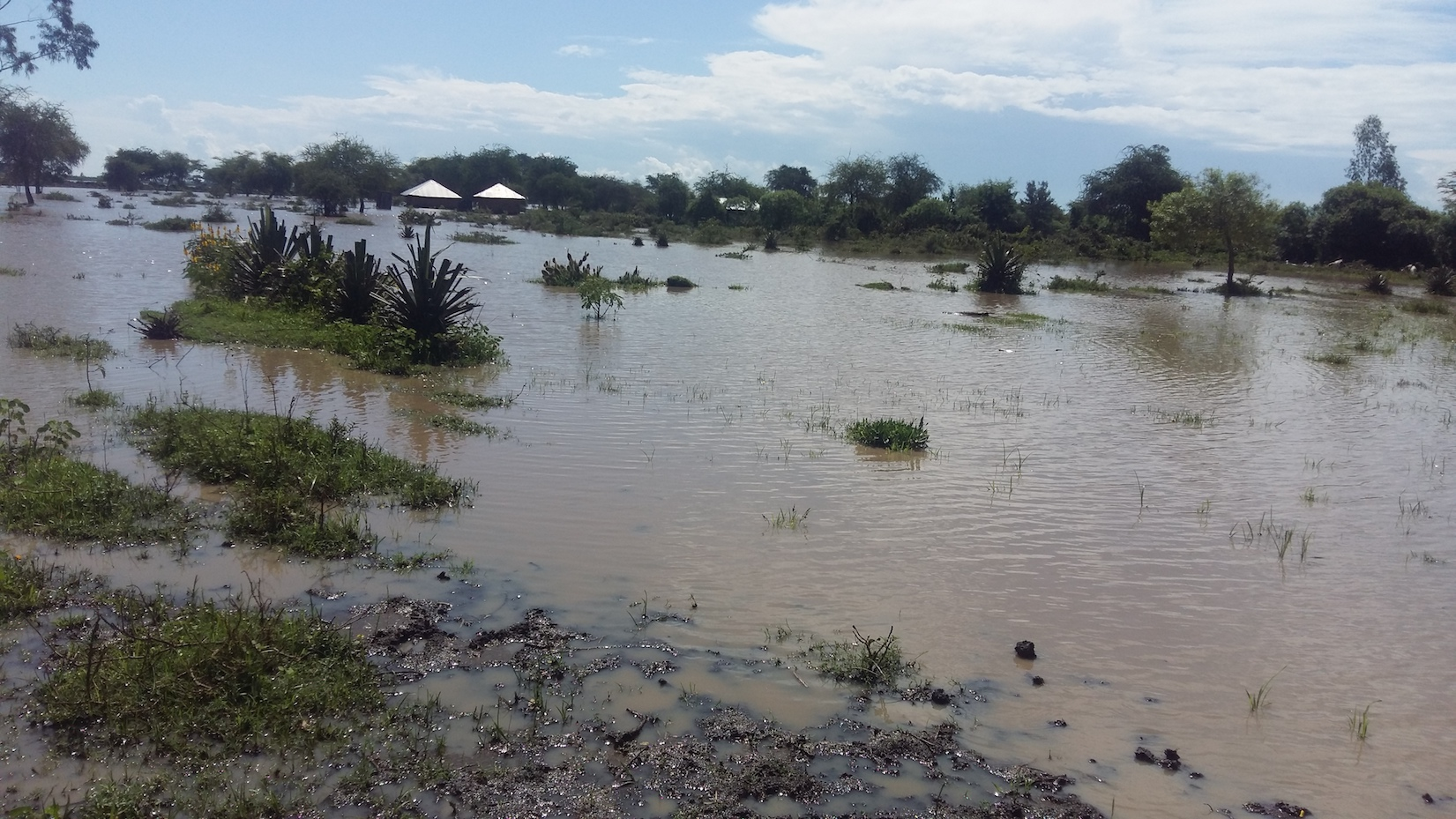 Floods destroyed property at Kalawa in Kenya's Machakos County. ©World Vision Photo/Hellen Owuor