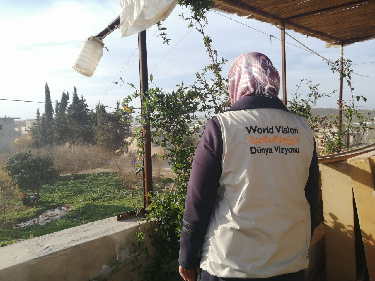 Ahlam, World Vision's Protection Adviser in North-West Syria