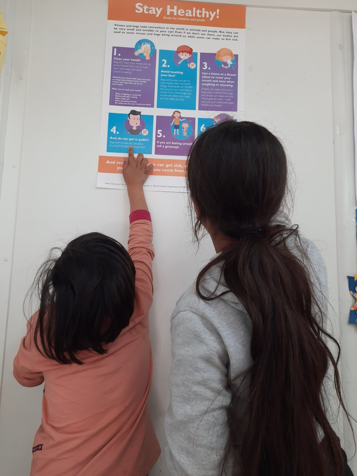 Children in Child-Friendly Space in Bosnia