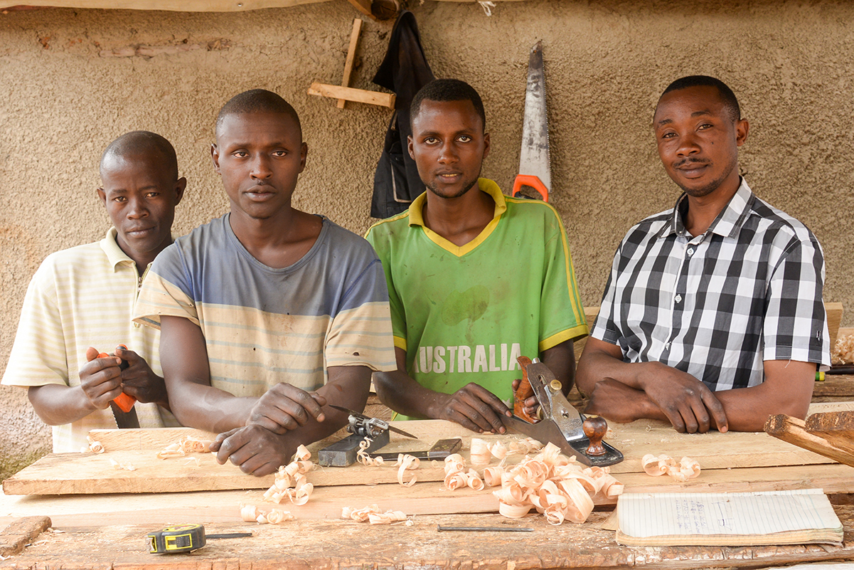 Refugee youth teach others their skills and trades