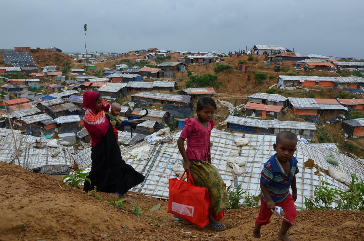 16,000 children in three refugee camps in Bangladesh
