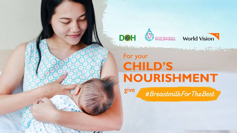 Breastfeeding week - give your child the best nourishment