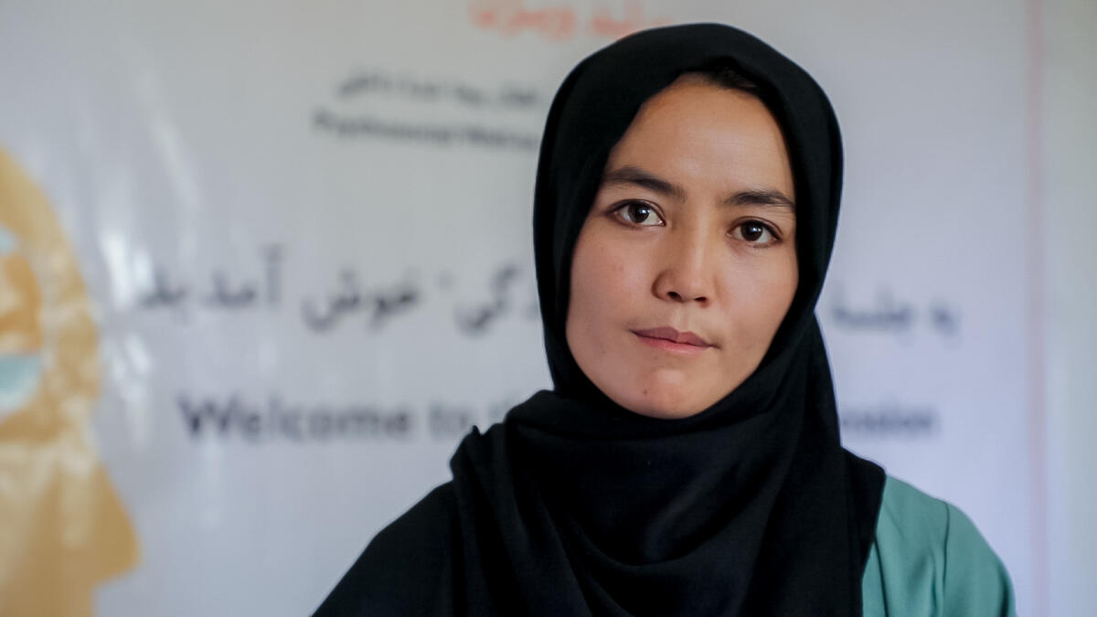 Zaynab is teaching the next generation of Afghan women.