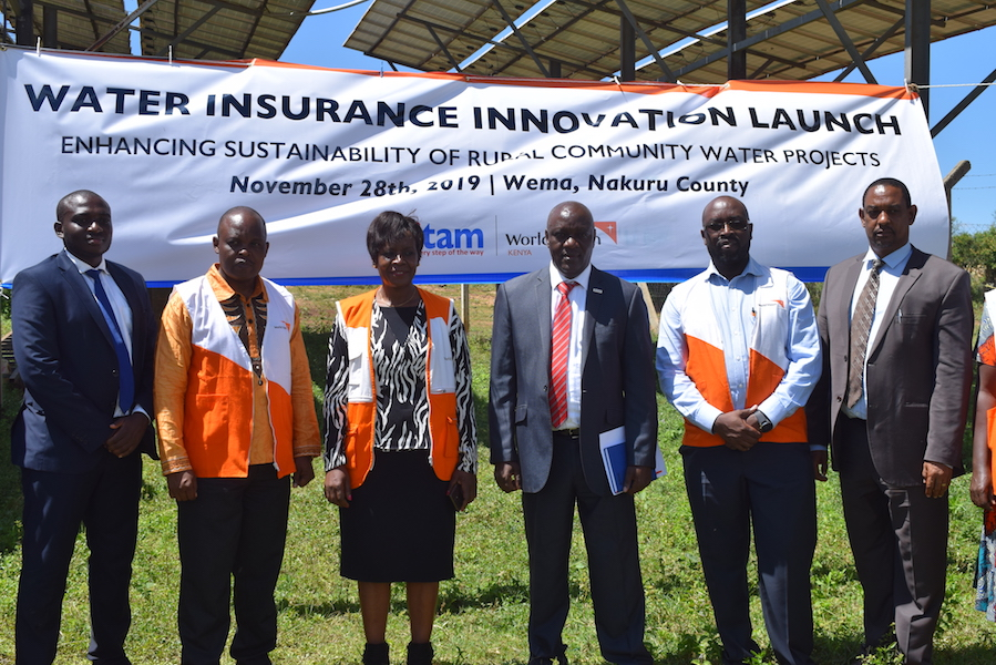 World Vision and Britam Launch Water Insurance