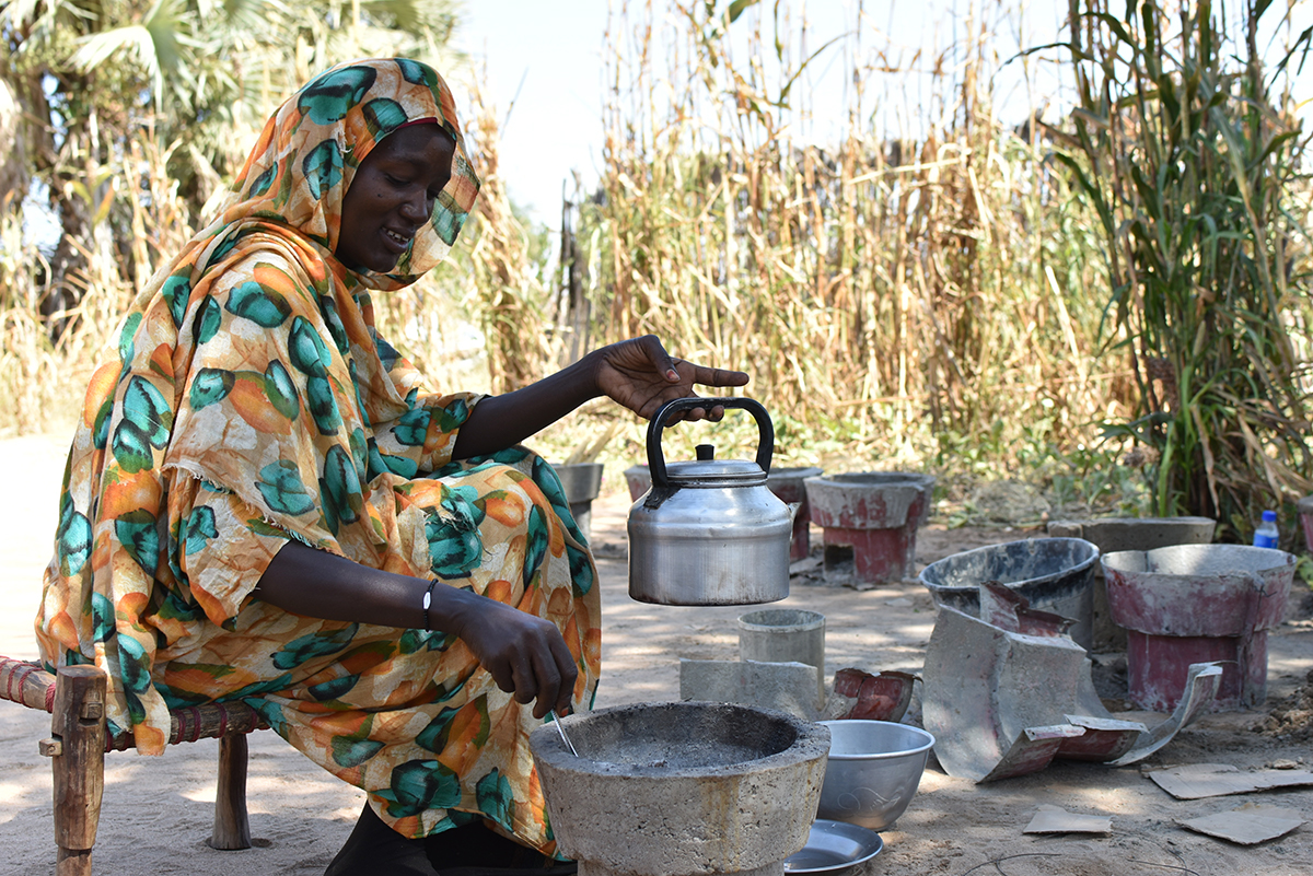 Women take on fuel-efficient stoves making as a reliable income source.