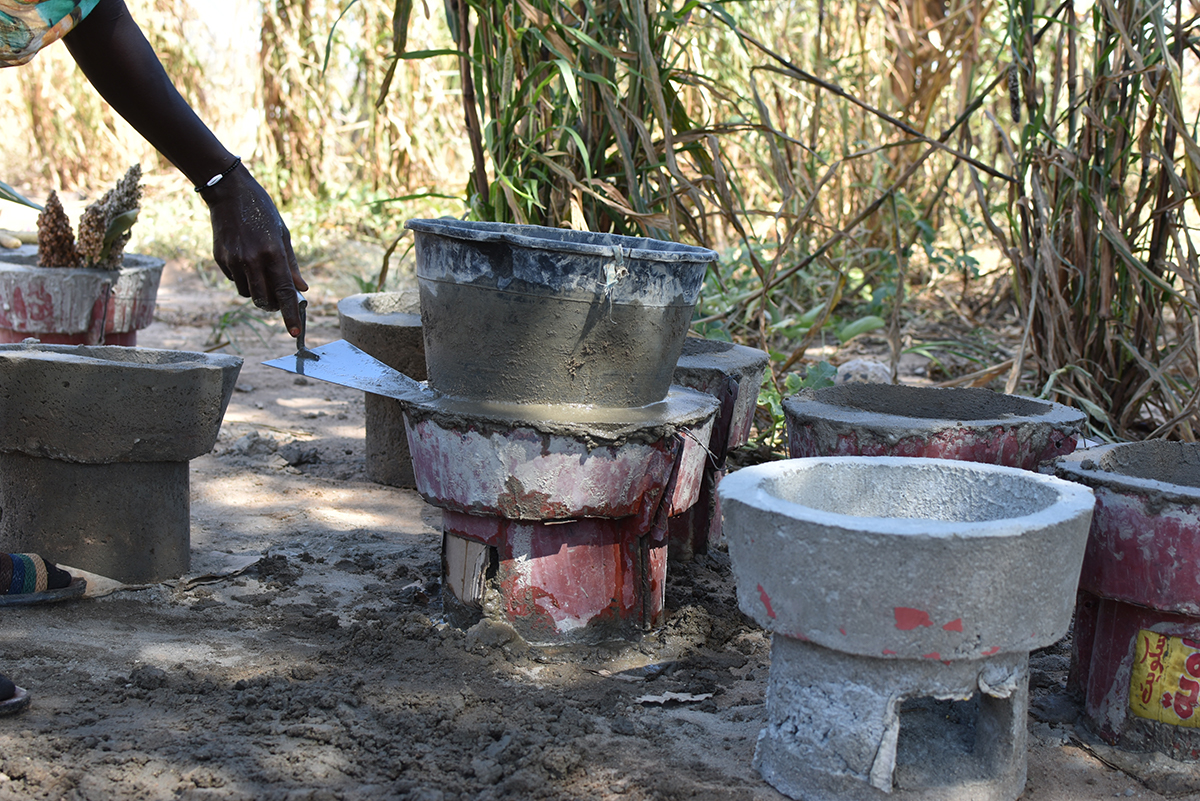 Women seize the opportunity of building fuel-efficient stoves as a business venture