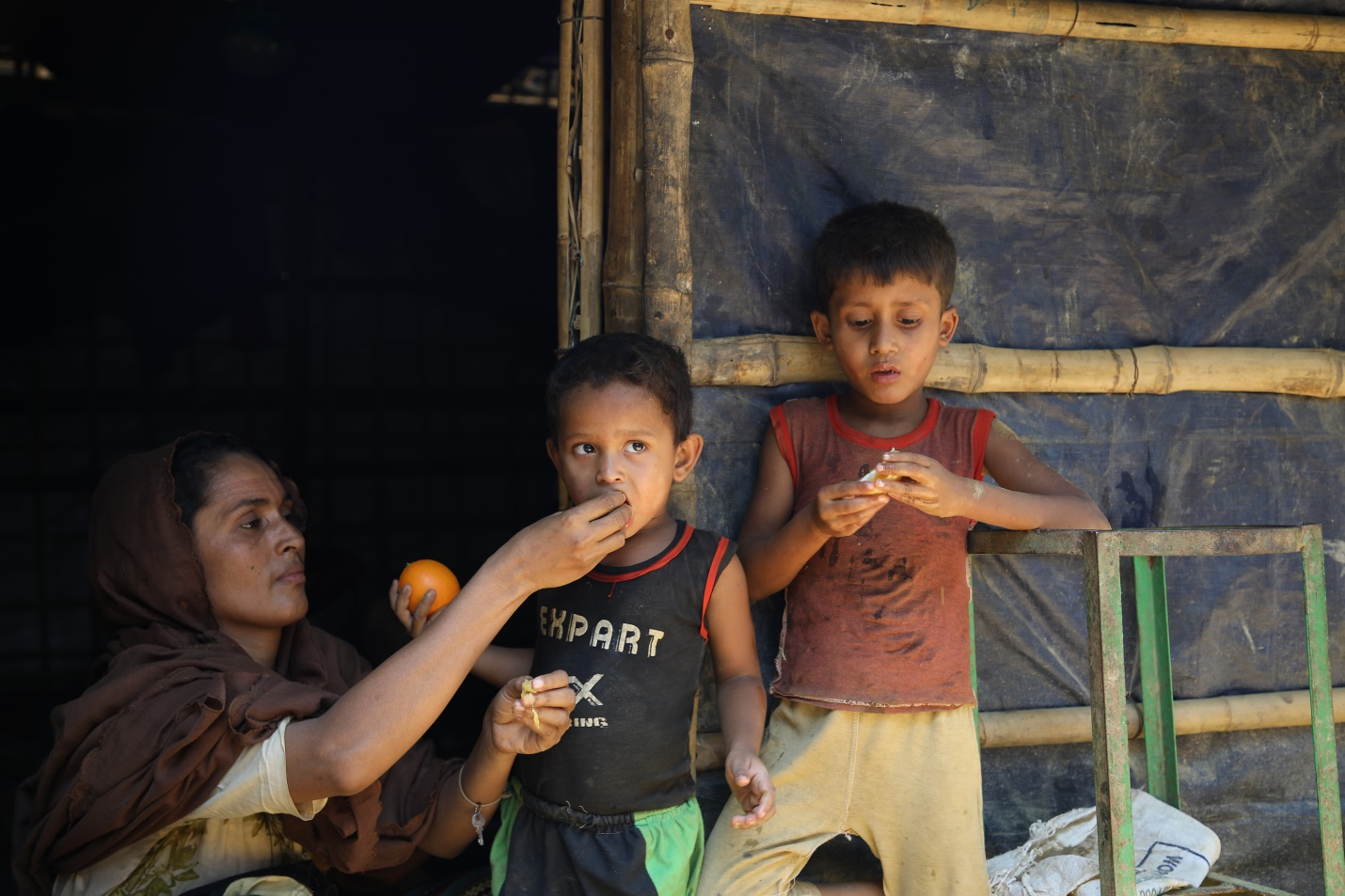 E-voucher food cards let refugees choose what they want to eat