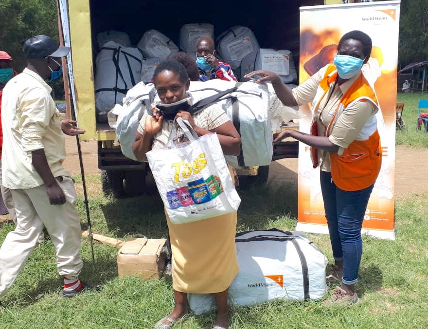 World Vision is supporting communities affected by floods at Ndabibi in Nakuru County, Kenya.