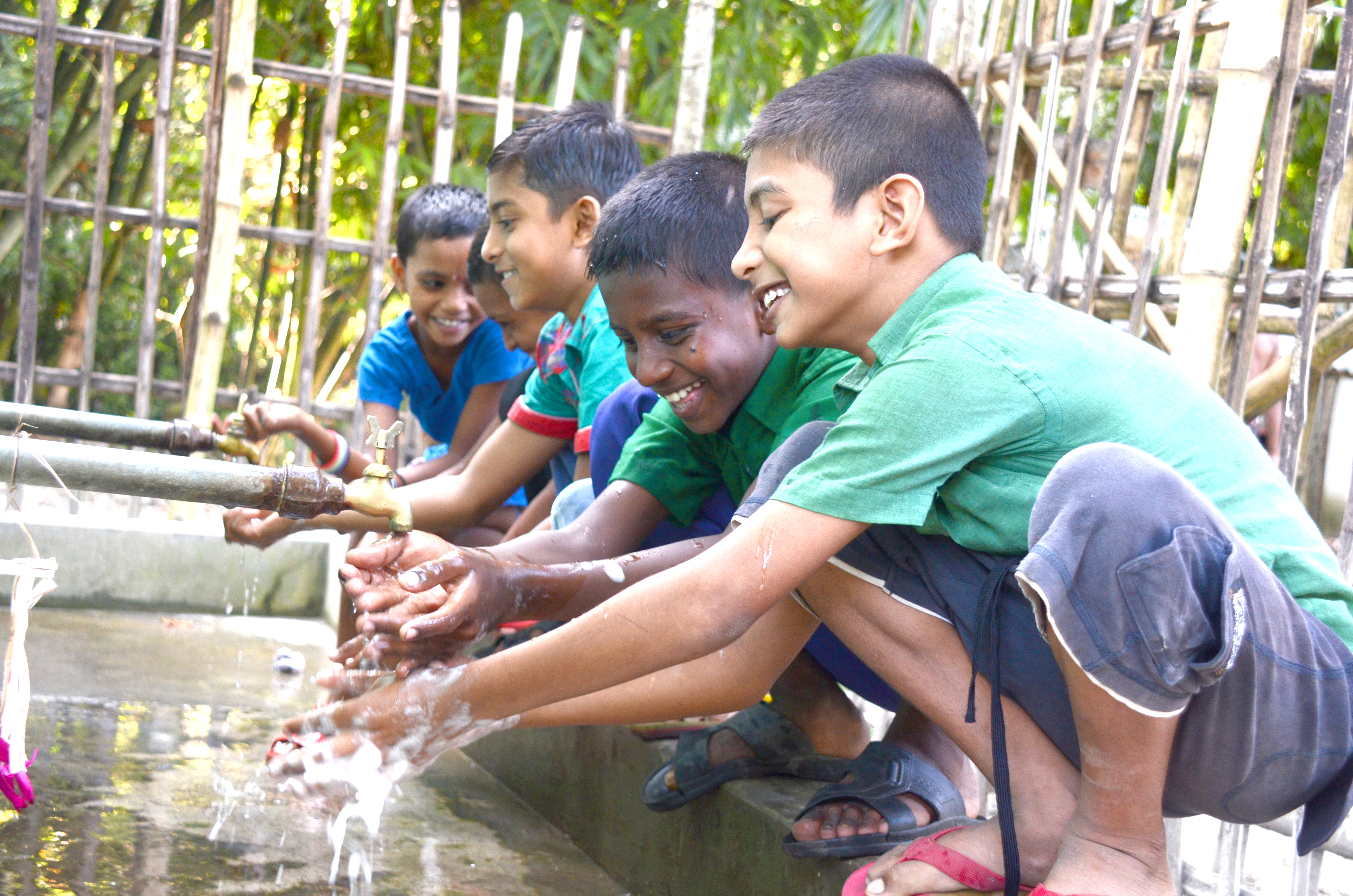 Children benefitted from WASH facilities and services in schools and communities.