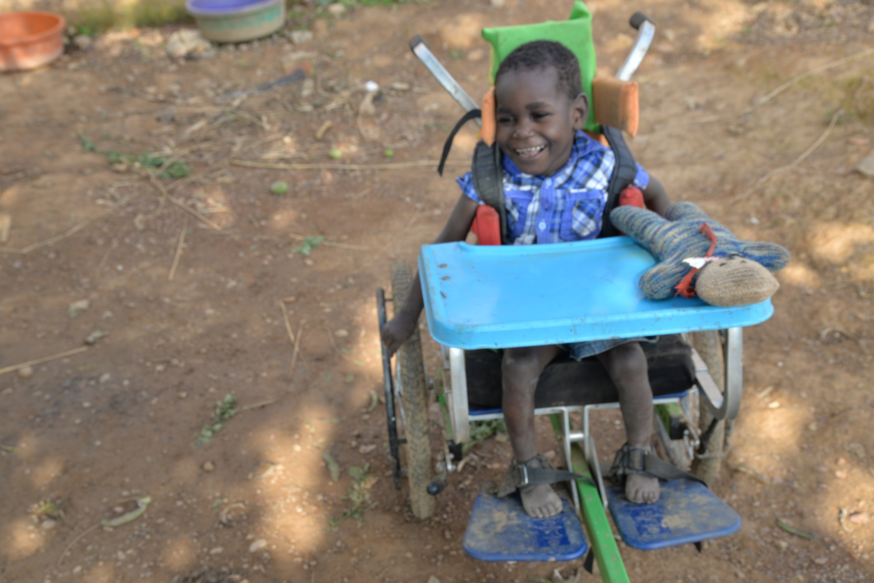 Wheelchair provides a solution