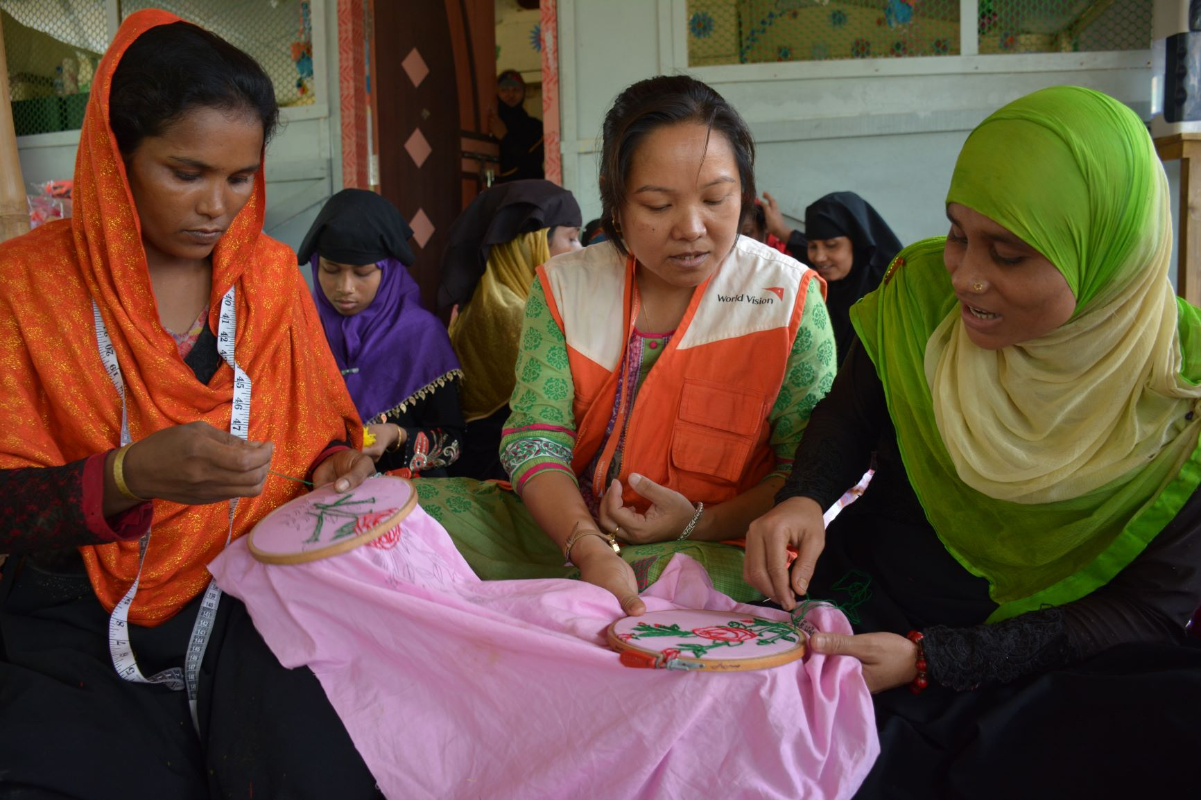Sharly Mayshew Prue—Award-winning visionary teaches Rohingya women new skills