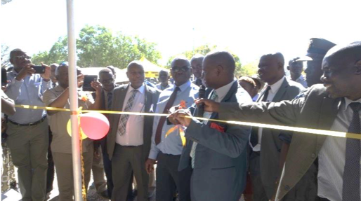 Ribbon cutting to officially open Fumugwe Health Clinic in Zimbabwe