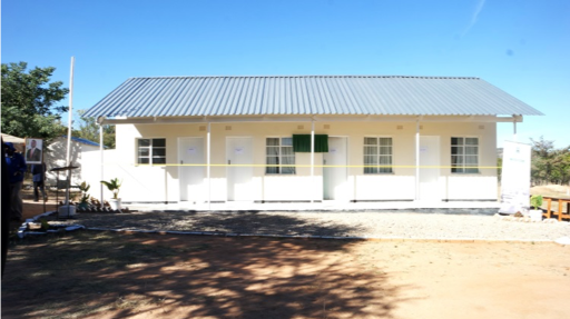 The new maternity wing at Fumugwe Clinic