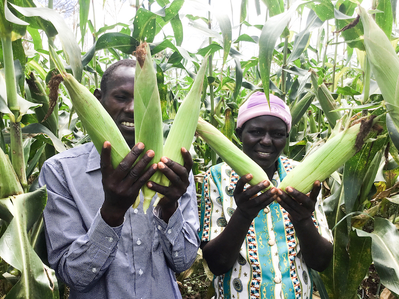 Farming as a business changed Bonny and Evelyn's lives