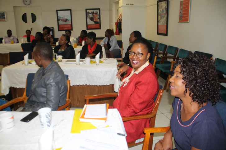 Some of the participants at the Women in Leadership training programme