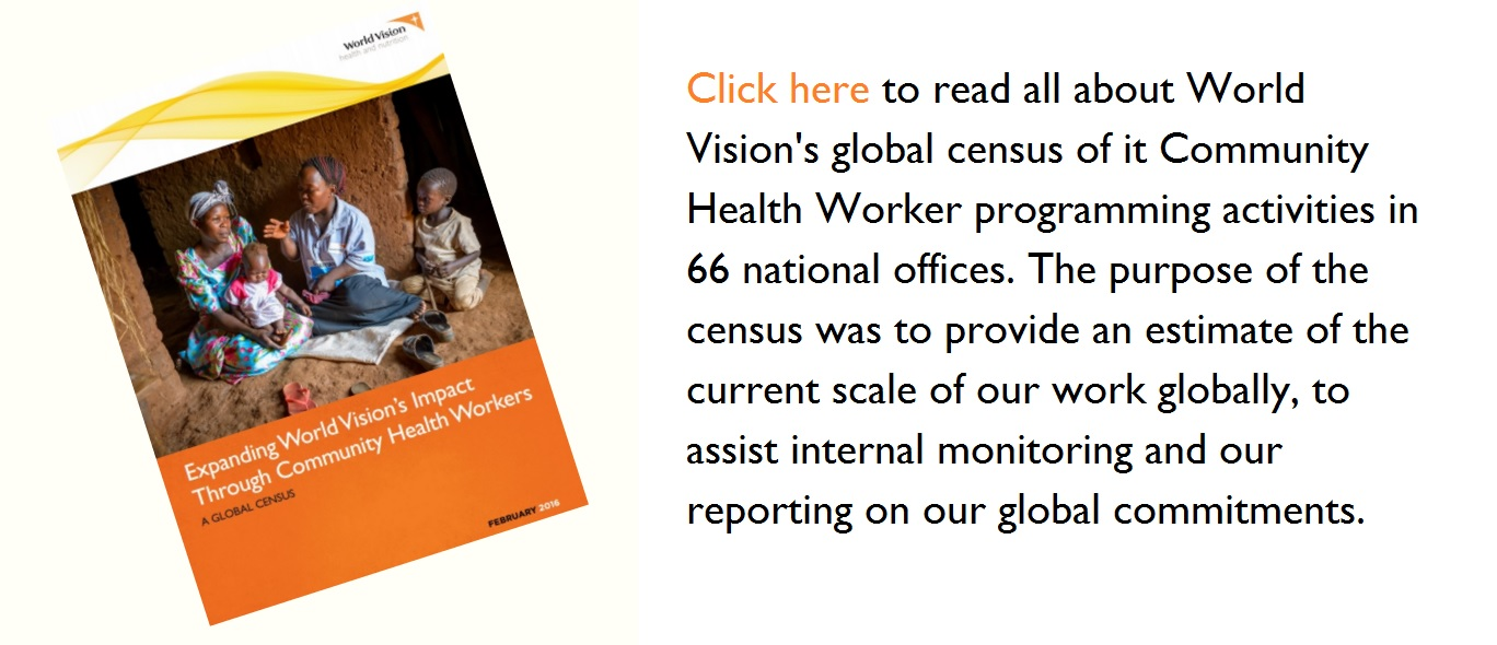 Read our new report on our global Community Health Worker programmes