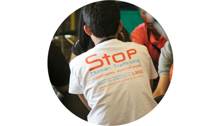 "alt=""Stop human trafficking shirt"">"