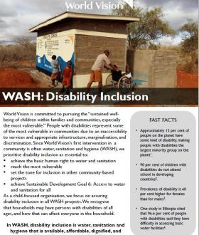 Disability Inclusion Learning Brief Cover