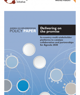 Delivering on the promise - cover image