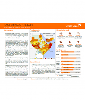 East Africa Children's Crisis - April 2019 Situation Report