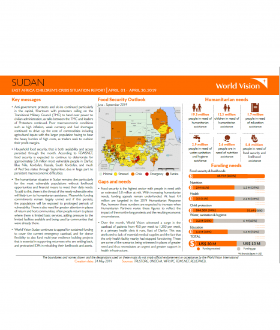 Sudan - April 2019 Situation Report