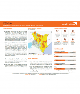 Kenya - May 2019 Situation Report