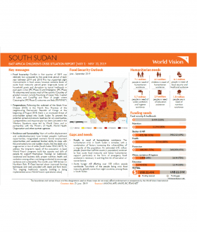 South Sudan - May 2019 Situation Report