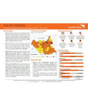 South Sudan - June 2019 Situation Report