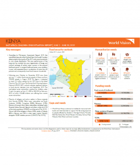 Kenya - June 2019 Situation Report