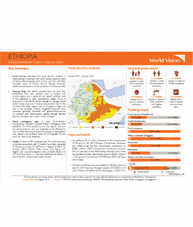 Ethiopia - July 2019 Situation Report