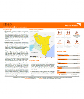Kenya - July 2019 Situation Report