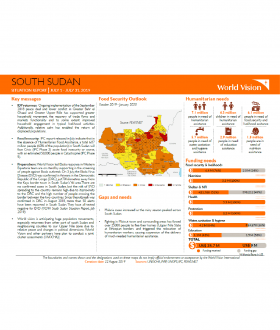 South Sudan - July 2019 Situation Report