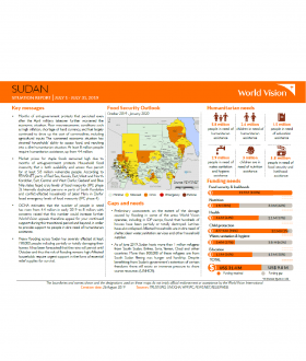 Sudan - July 2019 Situation Report