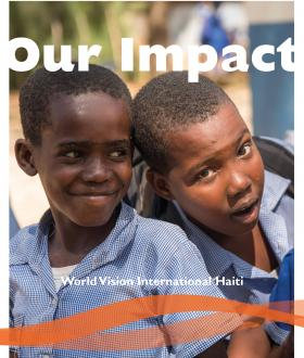 World Vision International Haiti Impact Report - Update 2018