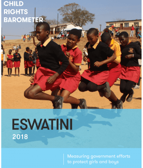 Child Rights Barometer Cover Image_Eswatini