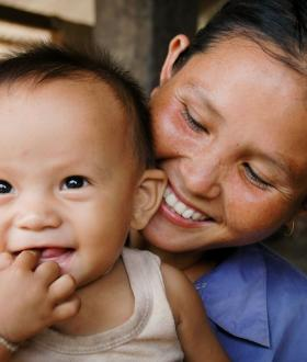 Lao households' nutrition is enhanced by a sustainable holistic project funded by the European Union and Australian Department of Foreign Affairs and Trade, focusing on Women of Reproductive Age and Children under 5 to stop undernutrition and its consequences