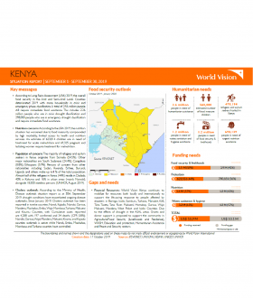 Kenya - September 2019 Situation Report