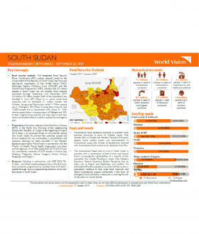 South Sudan - September 2019 Situation Report