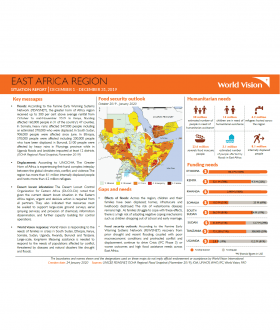 East Africa Region - December 2019 Situation Report